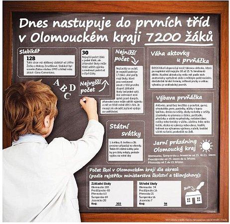 Školáci - grafika