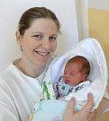 Miroslav Kubík, Lazníčky narozen 23. března, míra 49cm, váha 2930 g
