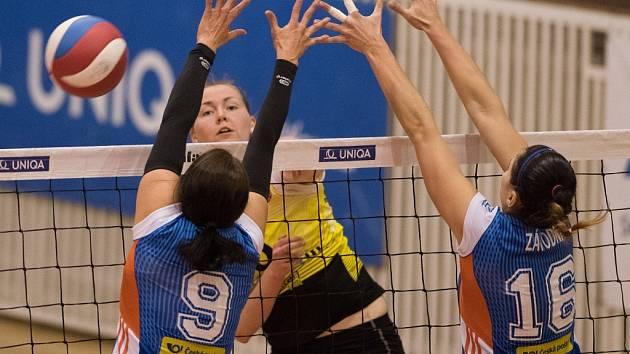 Ostrava proti Olomouci - třetí semifinálový duel
