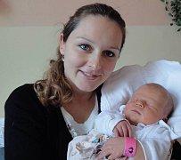 Adriana Macková, Olomouc, narozena 28. října v Olomouci, míra 50 cm, váha 3680 g.