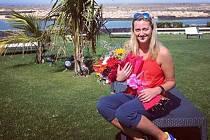 Petra Kvitová na Lanzarote oslavila své 27. narozeniny
