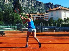 Petra Kvitová si zahrála v Monaku