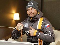 Účastník Rallye Dakar, šternberský rodák Rudolf Lhotský