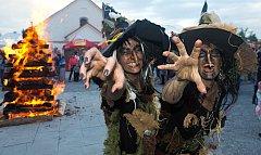 Čarodějnice na Korunní pevnůstce v Olomouci