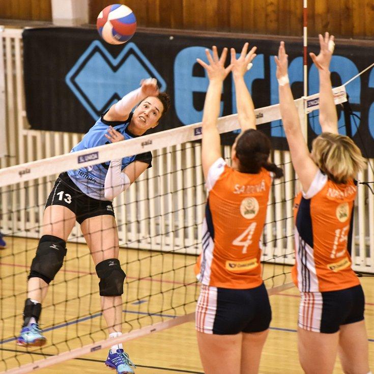 Extraliga žen ve volejbalu - 3. utkání Semifinále: TJ Ostrava vs. VK UP Olomouc hrané 20. dubna v Ostravě.