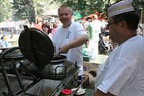 Pivní a gulášové slavnosti ve Velkém Týnci.