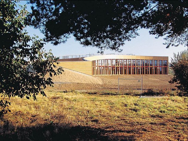 Nízkoenergetický dům ekologického centra Sluňákov.
