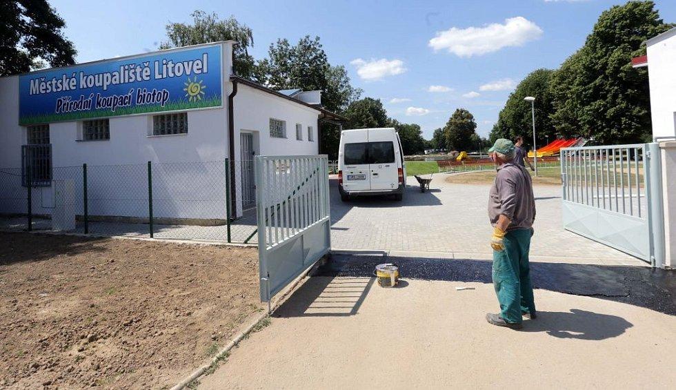 Koupací biotop v Litovli