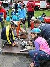 Mladí dobrovolní hasiči z Drahlova