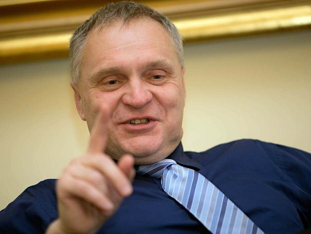 Současný rektor Univerzity Palackého Miroslav Mašláň