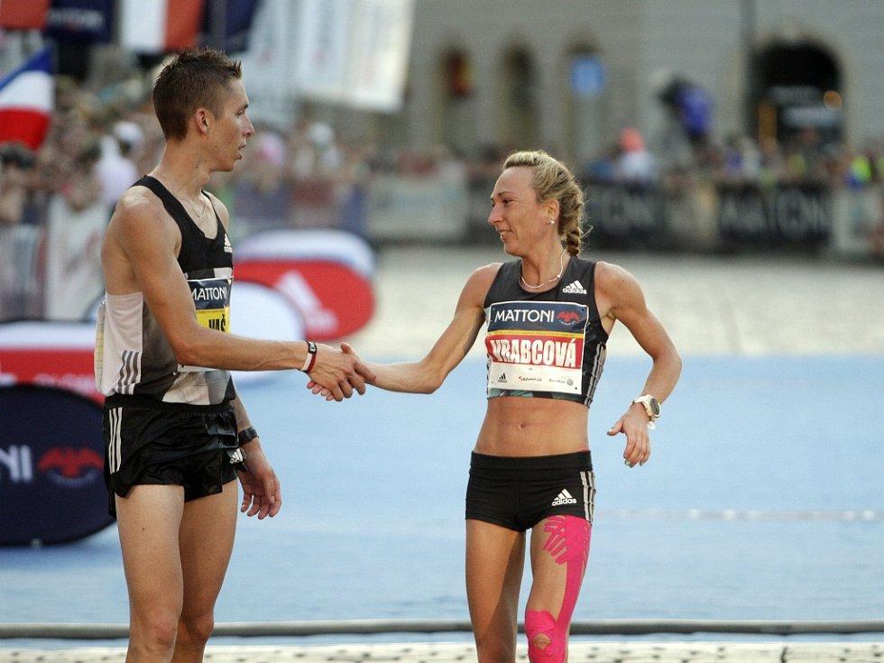 V Olomouci proběhl ve velkém horku další ročník půlmaratonu. Eva Vrabcová