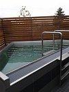 Olomoucký aquapark otevřel na terase ve druhém patře saunu, která rozšiřuje dosavadní wellness zónu. Investice přišla na 5,3 milionu korun.