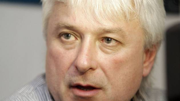 Generální manažer HC Olomouc Erik Fürst