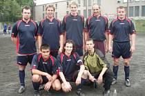 Futsalový tým Řetězy.