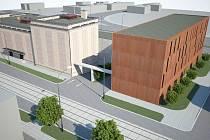 Vizualizace proměny okolí budovy bývalého Hodolanského divadla