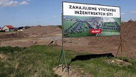 Stavební parcely v Horce nad Moravou.