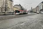 Olomouc, centrum města 16:00 až 17:00, 4. března 2021