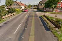 Most na vjezdu do Šternberka od Olomouce se bude opravovat