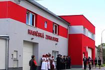 Otevření zrekonstruované hasičské zbrojnice v Senici na Hané