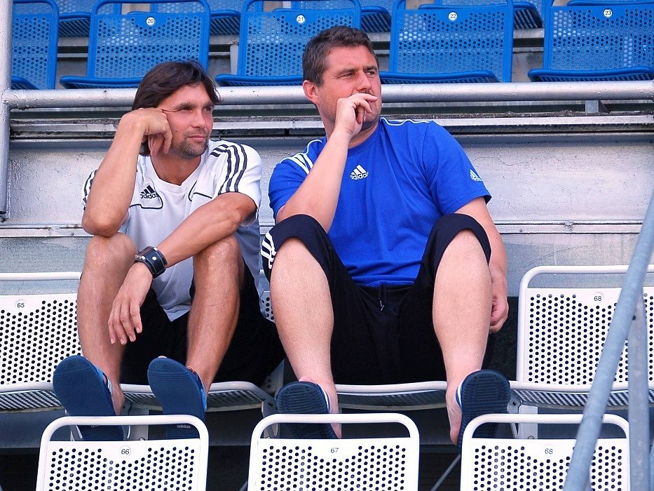 2009 - Začátek trénování v Sigmě (Martin Kotůlek se Zdeňkem Psotkou)