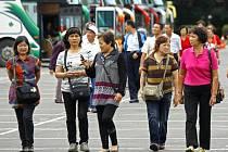 Čínští turisté. Ilustrační foto