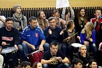 Fans házenkářů Velké Bystřice