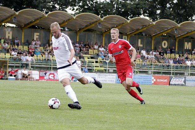 Fotbalisté  1. HFK Olomouc porazili ve druhém kole MOL Cupu prvoligové Brno 2:1