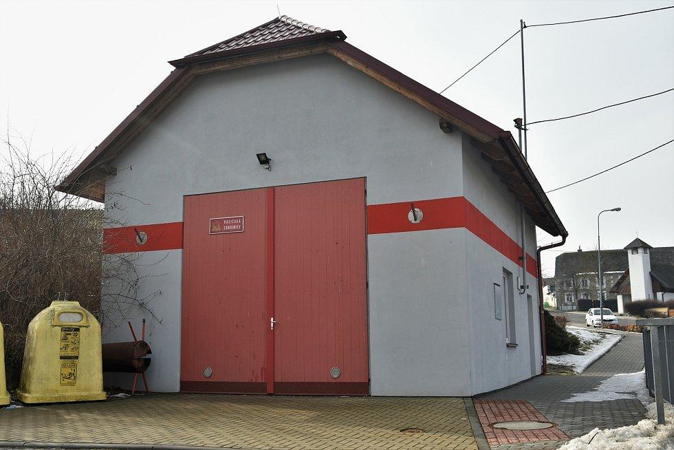 Zbrojnice Sboru dobrovolných hasičů Mladeč