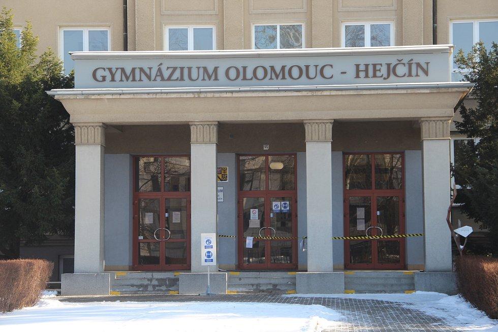 Do testování se zapojí také studenti gymnázia Hejčín.