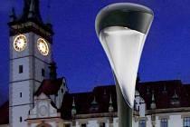 Lampa Philips Urbanstar - pro koláž použitý katalogový snímek výrobce