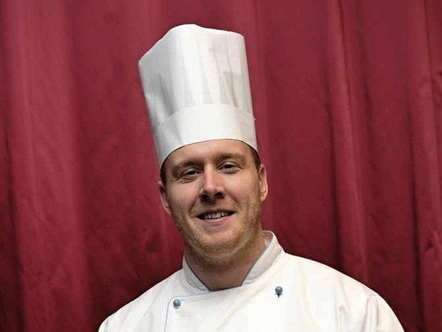 Petr Zuček, šéfkuchař olomouckého NH Congress hotelu