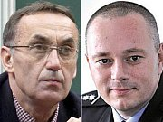 Dva z obviněných v kauze Vidkun: významný olomoucký podnikatel Ivan Kyselý a bývalý náměstek ředitele olomoucké krajské policie Karel Kadlec