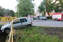 Nehoda opilého řidiče ve Šternberku