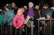 Česko zpívá koledy na Horním náměstí v Olomouci