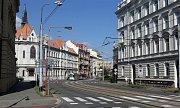Palackého ulice v centru Olomouce