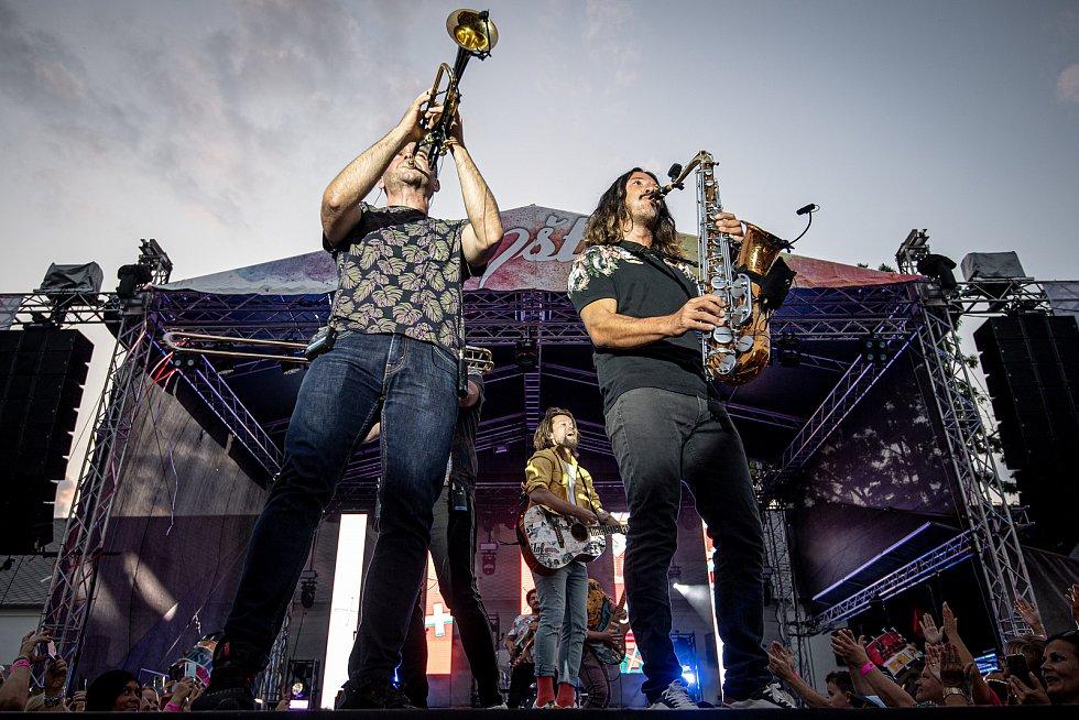 Koncert kapely Kryštof na Korunní pevnůstce v Olomouci, 24. července 2021