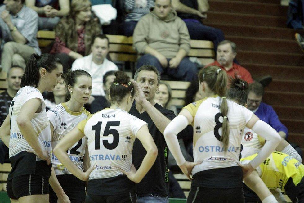 Zdeněk Pommer, trenér Ostravy