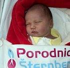 Eliška Nečková, Šternberk narozena 14. prosince míra 49 cm, váha 3270 g