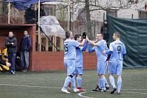 Superliga malého fotbalu. Olomoučtí fotbalisté. Ilustrační foto