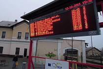Nové autobusové nádraží ve Šternberku
