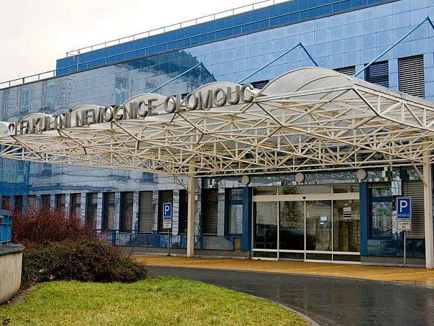 Olomoucká fakultní nemocnice. Ilustrační foto