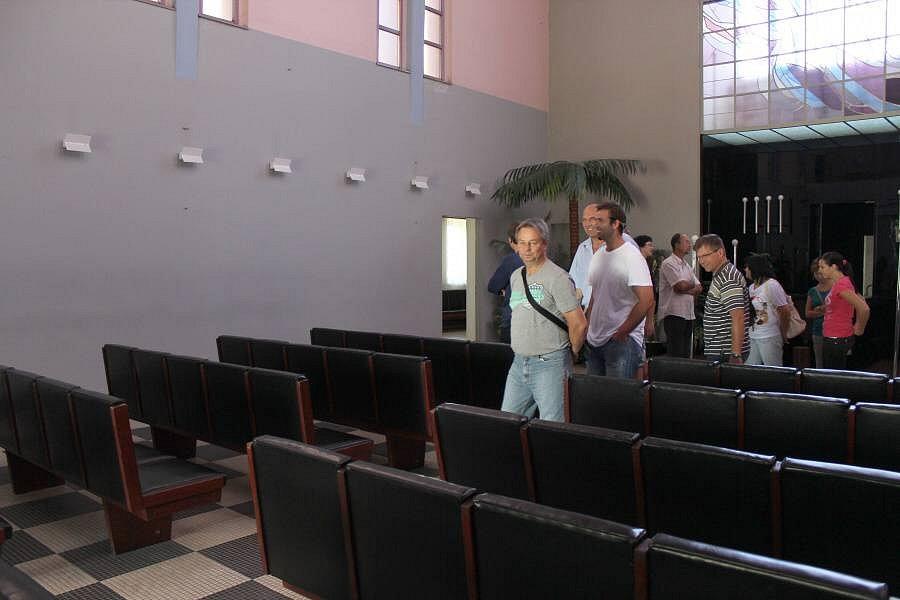 Krematorium na městských hřbitovech v Olomouci - Neředíně