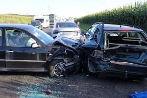 Nehoda u Velkého Týnce, 25.8.2020