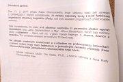 Důvodová zpráva k návrhu na odvolání Oto Košty z funkce hejtmana Olomouckého kraje