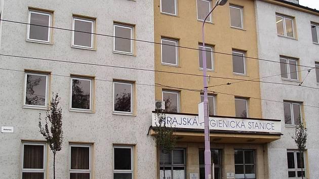 Budova Krajské hygienické stanice v Olomouci