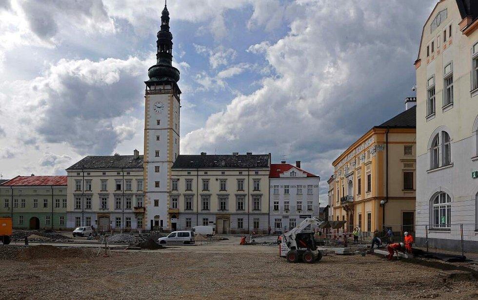 Rekonstrukce náměstí Přemysla Otakara v Litovli