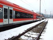 České dráhy přivezly z Německa jednotky Stadler GTW. Jezdit by mohly v Olomouckém kraji.