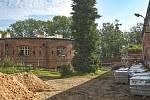 Fakultní nemocnice Olomouc opravuje část fortu Tafelberg. Rozšiřuje prostor pro archivaci dokumentů.