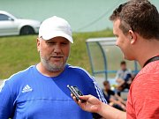 Trenér SK Sigma Olomouc U19 Jiří Saňák