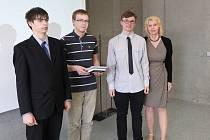 Studenti ze Slovenského gymnázia v Olomouci uspěli v Dějepisné soutěži
